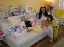Planifica un baby shower